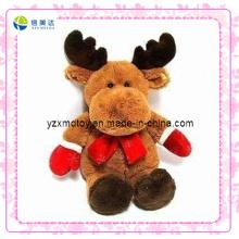 Brinquedo de pelúcia de natal personalizado rena (xdt-0184)