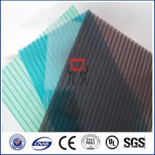 Arten von Polycarbonat-Folie, Polycarbonat-Blatt-Lieferanten, hohlen und festen Polycarbonat-Blatt