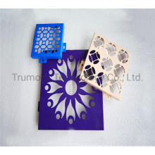 2mm 2.5mm 3mm PVDF High Strength Customized Pattern Decorative Solid Aluminium Honeycomb Wall Panel for Exterior Curtain Facade Cladding Wall Panels