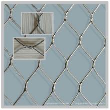 Aço inoxidável 304 cerca de corda para animais protegidos