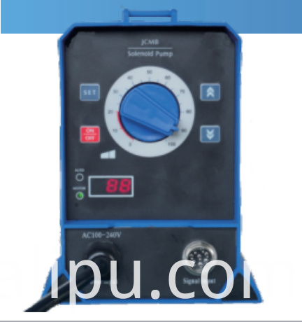 Solenoid metering pump Auto-Adjust (Digital impulse signal control)