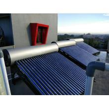 Герметичный солнечный водонагреватель с тепловыми трубками 300л