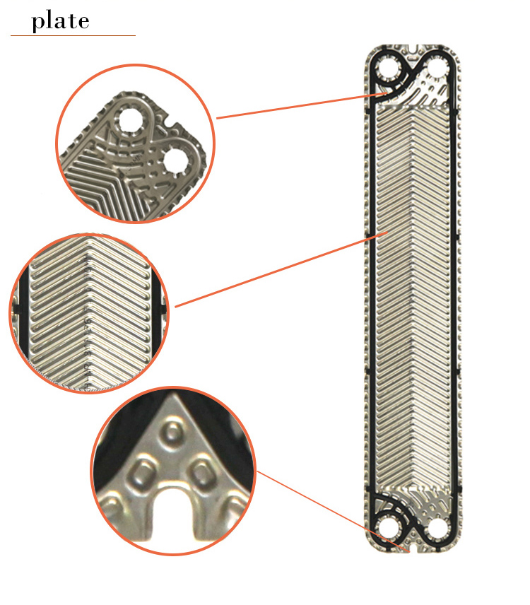 flat plates heat exchanger