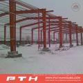 2015 almacén de estructura de acero económico prefabricado modificado para requisitos particulares con la instalación fácil