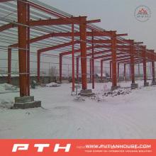 2015 Estructura de acero personalizada prefabricada Almacén de Pth