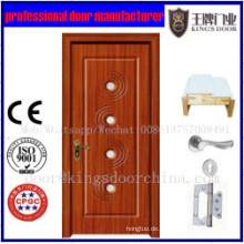 Fertige Oberfläche, die hölzerne Tür PVCs MDF beendet
