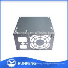 Boîte de puissance d'estampage en métal à haute précision