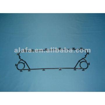 M6M associés plaques, joint Echangeur à plaques et joints d'étanchéité nbr epdm plaque échangeur de chaleur