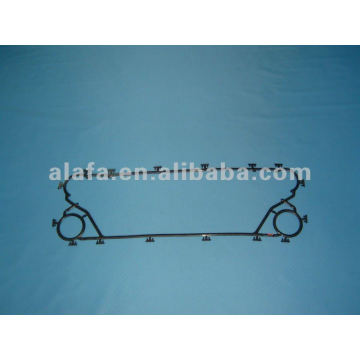 M6M related nbr epdm plate heat exchanger gaskets and plates ,gasket plate heat exchanger