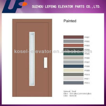 Puerta de Ascensor Semiautomática / Puerta de Elevador Manual