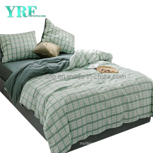 Hospital Cotton Fabric Bedding Modern Design Nordic Style 4 PCS King Bed