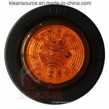 DOT Approved 2inch Side Marker Light with Grommet, 2 Year Warranty, Waterproof