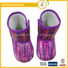 2015 stilvolle Kinder schnee Stiefel Baby Schuhe Baby Winter Pelzstiefel