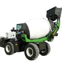 1.2 Cubic Meter HW012 self loading mobile concrete mixer truck