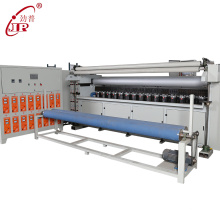 Chain stitch ultrasonic embroidery quilting machine for bed cover with customized roller patterns high speed