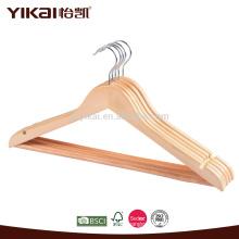 Вешалка плоская деревянная