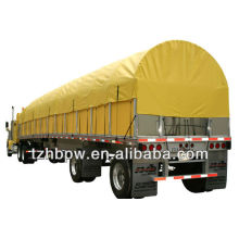 Waterproof PVC tarpaulin truck side curtains