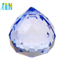 40mm Kristall lila Kronleuchter Anhänger Facette Ball