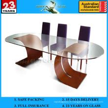 Table basse en verre de 3 à 19 mm avec AS / NZS2208: 1996