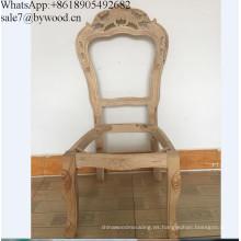 Muebles para el hogar silla barata marcos antiguos tallados silla de madera marco comedor sillas marco
