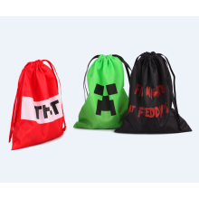 Wholesale nylon drawstring gift bags