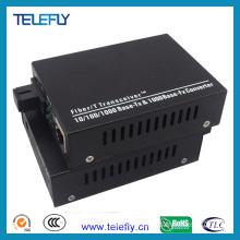 Sc Single Fiber 10/100/1000m Fiber Media Converter