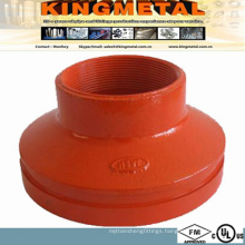FM/UL Approved Grooved Pipe Fitting of Concentric Reducerm.