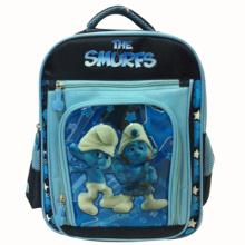 The Smurfs school bag