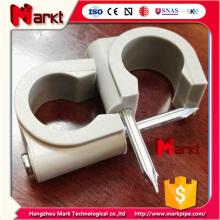 U tipo de clip de tubo para el mercado de Australia con uñas