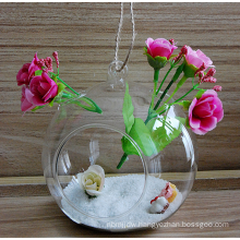 Personalized hanging glass ball with one big hole