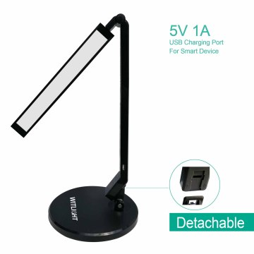 4 Lighting Mode with 5 Brightness Levels LED Desk Lamp