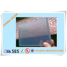 Placa rígida dura transparente da folha do PVC do plástico de 5.0mm