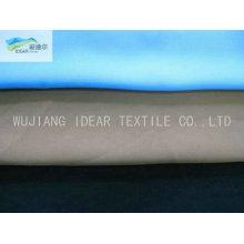 125D*150D Polyester Plain Single Spray Peach Skin Fabric