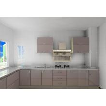 2015 Gabinete de cocina de acero inoxidable nuevo diseño 304