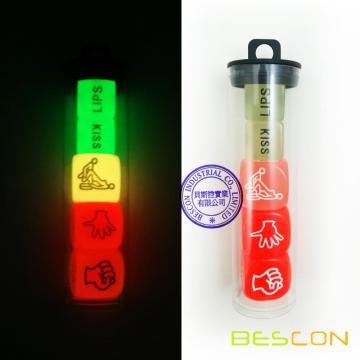 Funny Sex Position Glowing Dice Set for Adult Couples Novelty Toys Game Adult Fun Toy Sex Games Love Dice