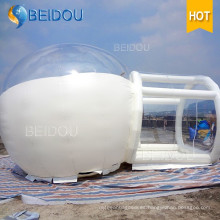 Personalizado para Eventos de Fiestas Tiendas de campaña de camping de la bóveda Inflables transparentes Clear Bubble Tent