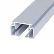 sección de marco de aluminio para barandilla de vidrio / ventana / puerta