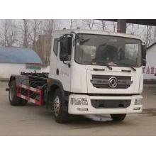Camión de basura de elevación de gancho DFAC Duolika 12CBM