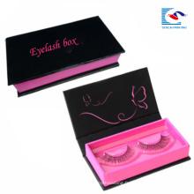 cils de vison cosmétiques personnalisés boîtes d'emballage 3d avec logo