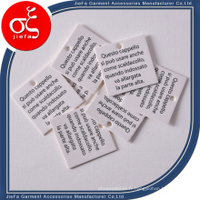 Prix bon marché petite étiquette de carte de papier Merci