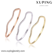 51397 xuping multicolor copper alloy fashion jewelry bangle for women