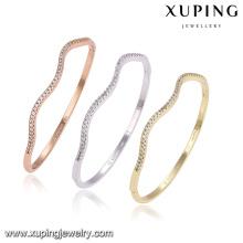 51397 xuping liga de cobre multicolor moda jóias pulseira para as mulheres