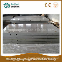 Heating platen for hot press