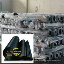 High Quality Black EPDM Rubber Waterproof Membrane with ISO Certificate