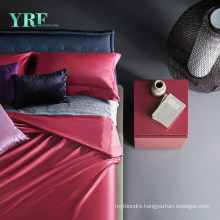 Villa Deluxe Durable Cotton Red King Bed Sheet Sets