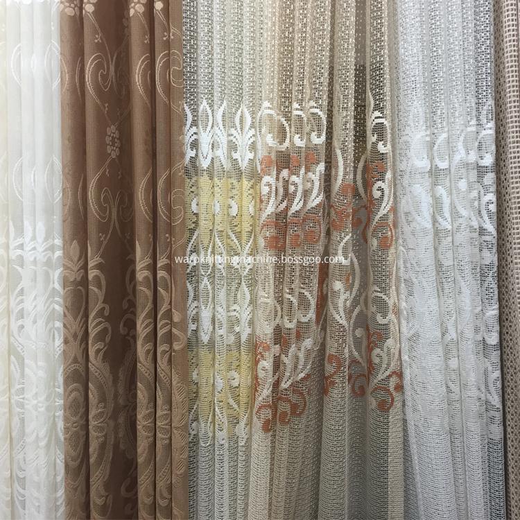 Lace Curtain Warp Knitting