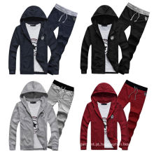 Venda Por Atacado Custom New Mens Sports Hoodie Men Track Suit