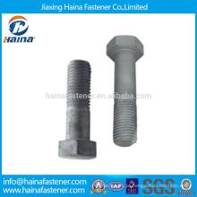 Fornecedores da China ASTM A325 Parafusos estruturais pesados de alta resistência