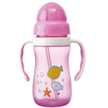 Plastic baby drinkfles trainingsbeker