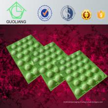 Chine Plateaux en plastique d'utilisation professionnelle d'avocat d'approbation de GV de FDA de fabricant pour l'emballage de fruit fait de polypropylène de catégorie comestible